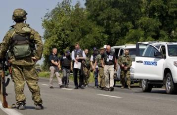 ОБСЕ: Ни Украина, ни НВФ не закончили отвод тяжелого вооружения