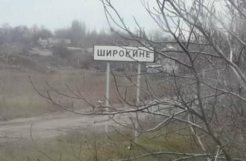 Подгруппа по безопасности договорилась о прекращении огня в Широкино