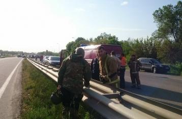 На Харьковщине мужчина застрелил двух человек и захватил заложников