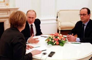 Меркель, Олланд и Путин договорились о проведении встречи в «нормандском» формате