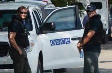 Миссия ОБСЕ недосчиталась отведенного вооружения на Донбассе