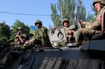 Штаб АТО сообщает о стабилизации ситуации в Марьинке
