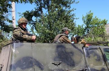 Бой под Марьянкой завершился, потерь среди военных и мирных жителей нет