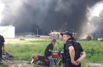 ГосЧС: Распространение огня на лес под Васильковом остановлено