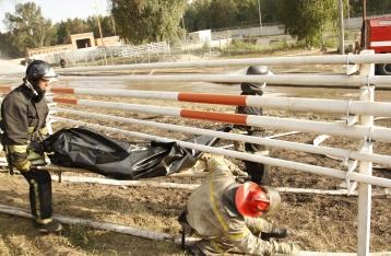 Пожар на нефтебазе унес жизни пяти человек
