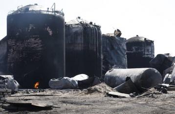 Последствия пожара на нефтебазе под Киевом оценит ВОЗ