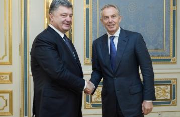 Порошенко пригласил Блэра в Консультативный совет реформ