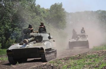 НВФ трижды пытались прорвать оборону у Марьинки и на Луганщине