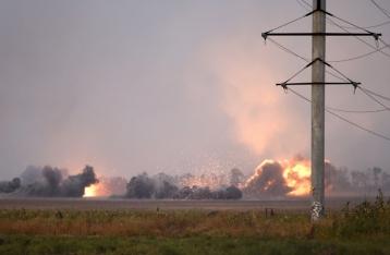 За прошлые сутки погибли двое военных,  шестеро ранены