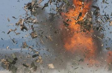 В Полтаве взорвался военный грузовик с боеприпасами