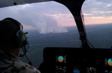 Чечеткин заверил, что ситуация с пожаром в «Чернобыльской пуще» контролируемая