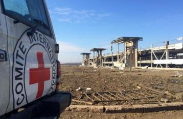 НВФ не пропустили в Донецк гуманитарку от Красного Креста