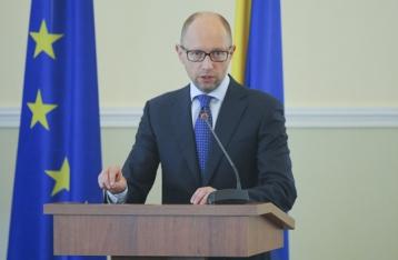 Яценюк: Выборы в Чернигове – это тест на демократичность страны