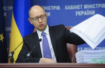 Яценюк: Бюджет-2016 будет сложнее бюджета-2015