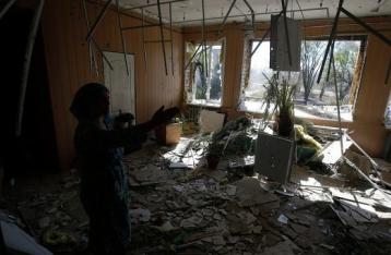 В результате обстрела Дзержинска погибли два местных жителя