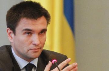 Климкин призвал РФ начать реальные переговоры о прекращении огня