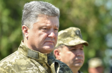 Порошенко: ВСУ не покинут стратегические высоты возле Широкино