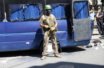 Милиция завела дело по факту беспорядков в Харькове