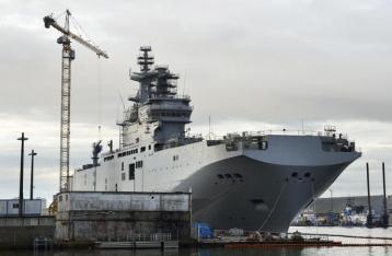 Франция и РФ прекратили контракт по «Мистралям»