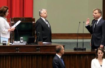 Дуда вступил в должность президента Польши