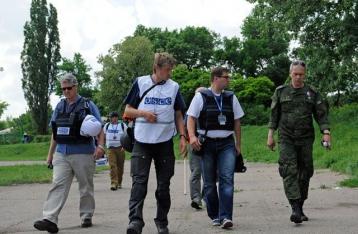 ОБСЕ зафиксировала на Донбассе восемь человек, причастных к армии РФ