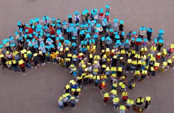 За год население Украины сократилось на 164 тысячи