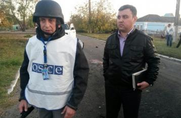 ОБСЕ установила, что Сартану обстреляли с востока