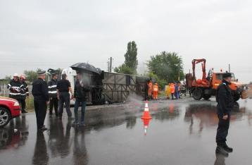 МИД: В результате аварии автобуса в Румынии украинцы не пострадали