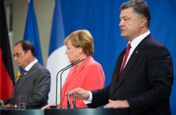 Порошенко: Фейковые выборы на Донбассе угрожают минскому процессу