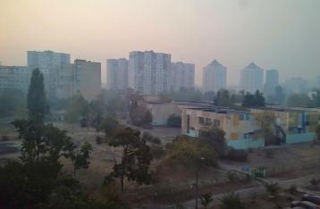 В ГосЧС рассказали, почему Киев затянуло дымом