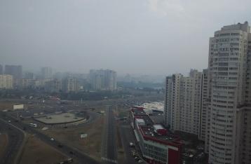 В ГосЧС заверили киевлян, что дым скоро рассеется