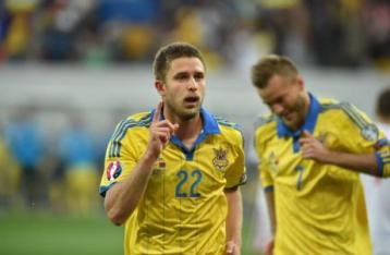 Украина обыграла Беларусь в матче отбора Евро-2016
