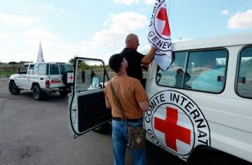 НВФ не пропустили в Донецк гумпомощь МККК