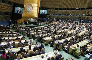 Во время выступления Путина делегация Украины покинула зал ГА ООН