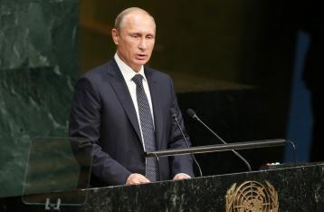 Путин: Политическое устройство Украины должно быть согласовано с населением Донбасса