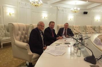 Трехсторонняя группа завтра обсудит проведение выборов на Донбассе