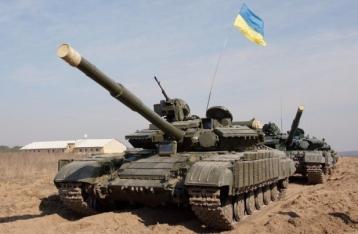 Силы АТО завершили первый этап отвода танков на Луганщине