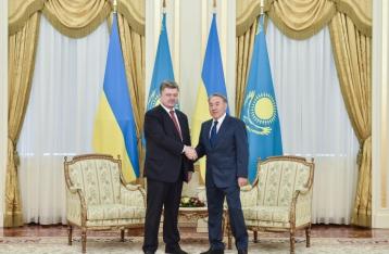 Украина и Казахстан подписали план сотрудничества до 2017 года