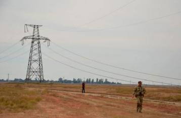 Участники блокады заявили о частичном отключении Крыма от электроэнергии