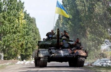 Силы АТО начинают отвод танков на Дебальцевском направлении