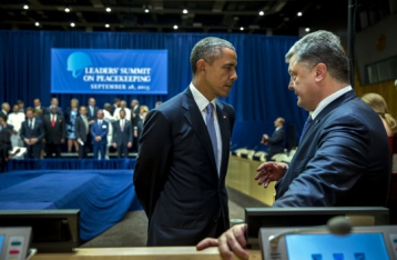 Порошенко: Контрбатарейные станции США поступят в Украину в середине ноября