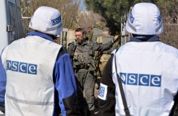 ОБСЕ зафиксировала взрывы и перестрелки на Донбассе