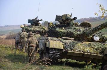 Силы АТО завершили отвод танков