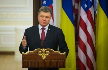 Порошенко о выборах: Попытка РФ создать пятую колонну в Украине провалилась