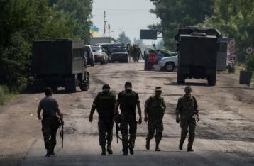 НВФ обстреляли блокпост в Трехизбенке: ранены трое военных