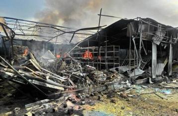 НВФ из минометов обстреляли жилые кварталы Красногоровки