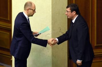 Луценко: Через месяц Яценюка могут отправить в отставку