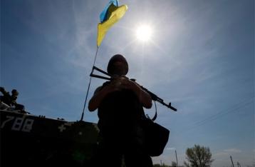 За сутки в зоне АТО один военный погиб, пятеро ранены