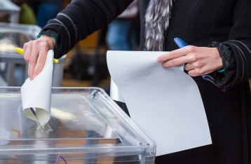 Украинцы выбирают мэров 29 городов
