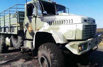 На Луганщине «КрАЗ» с военными попал в ДТП, есть погибшие
